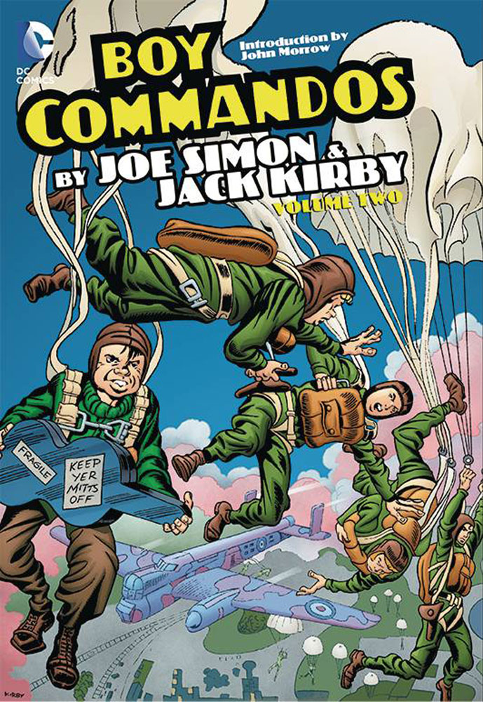 Boy Commandos by Joe Simon & Jack Kirby Volume 2