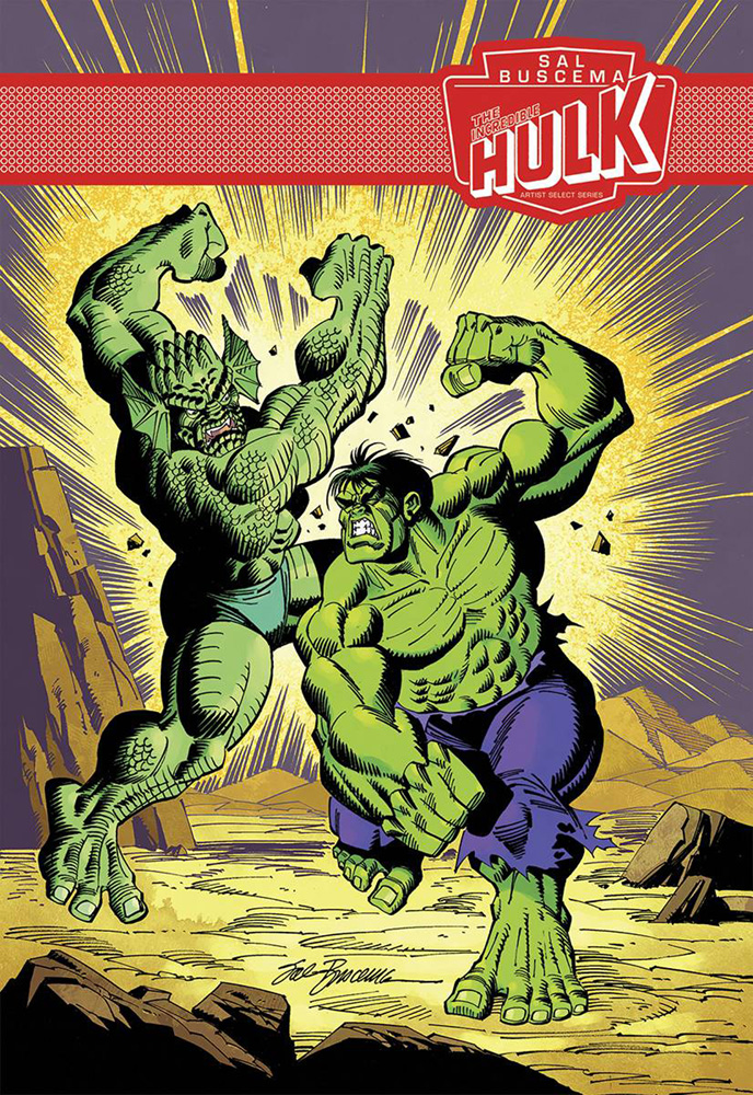 The Incredible Hulk by Sal Buscema: Marvel Artist Select Series