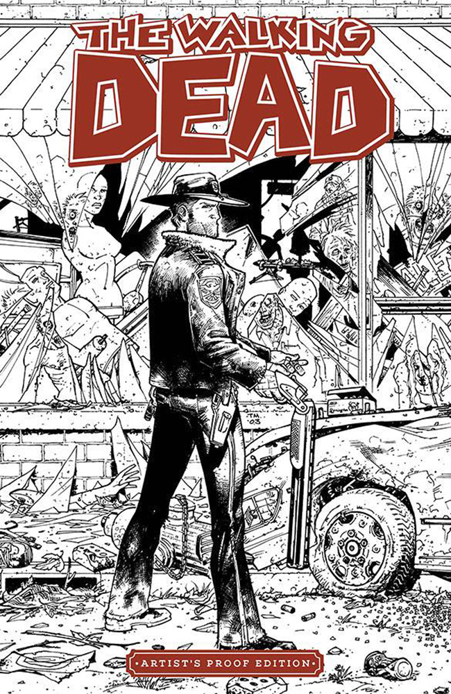 Image Giant-Sized Artist Proof Edition: The Walking Dead #1