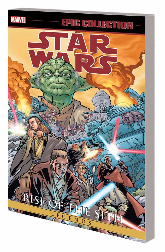 Star Wars Legends Epic Collection: Rise of the Sith Volume 1