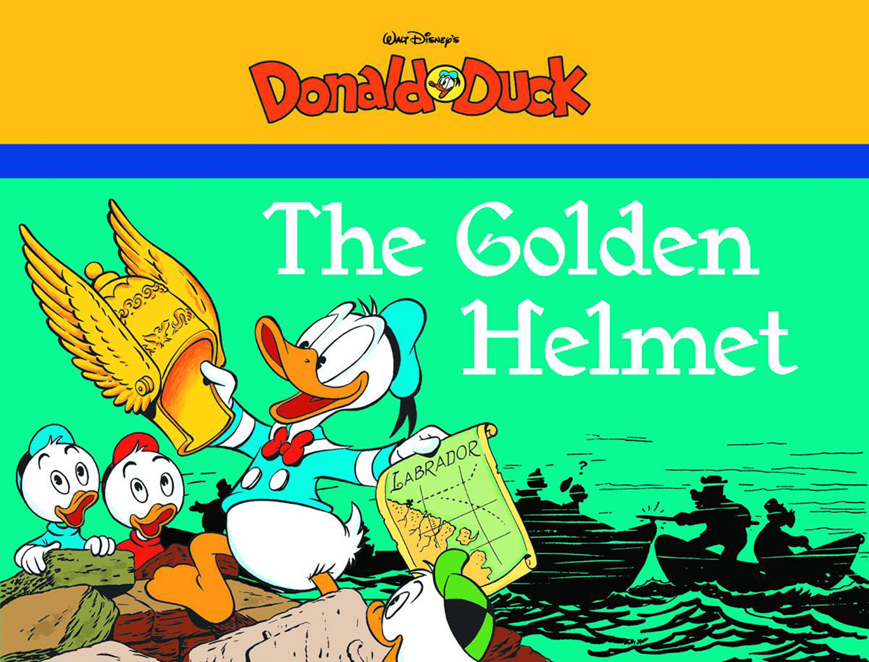 The Golden Helmet Starring Walt Disney's Donald Duck