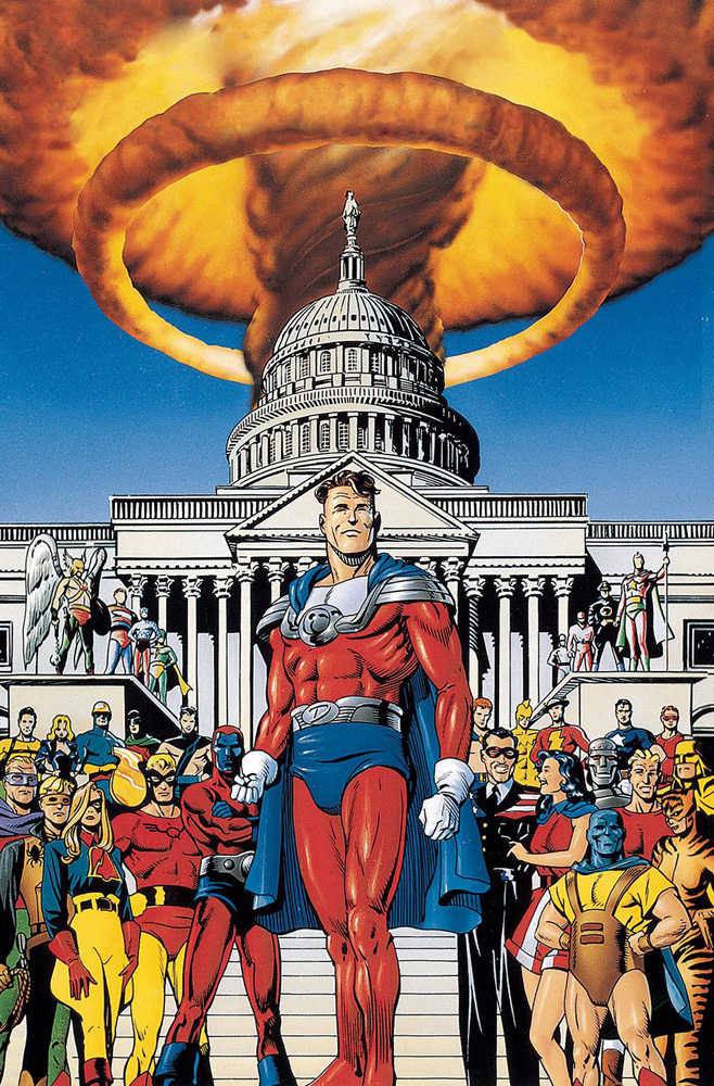 JSA: The Golden Age Deluxe Edition HC