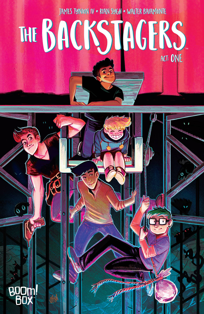 The Backstagers #1 Veronica Fish cover