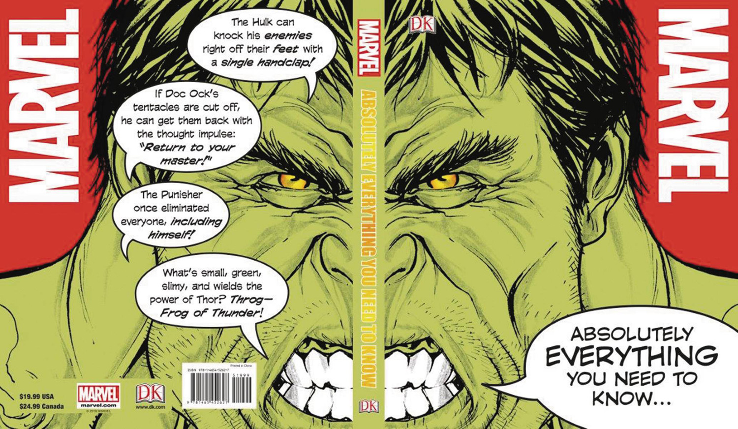 Marvel: Absolutely Everything You Need to Know…