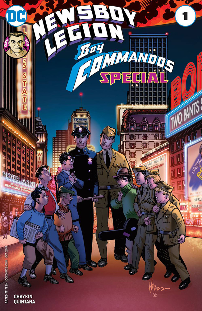 Newsboy Legion and The Boy Commandos Special
