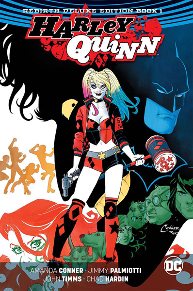 Harley Quinn: Rebirth Deluxe Collection Book 1