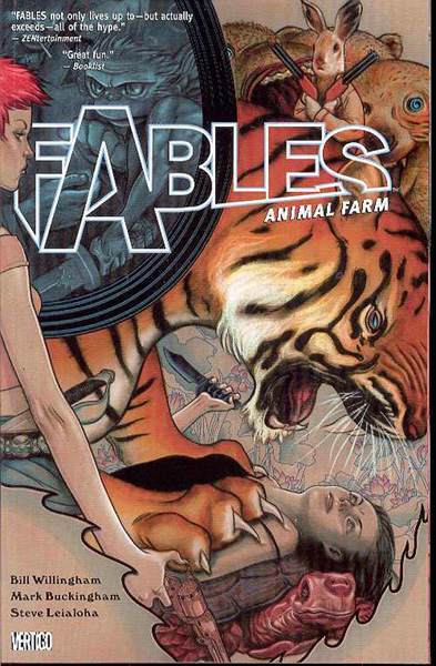 Image: Fables Vol. 02: Animal Farm SC  - DC Comics