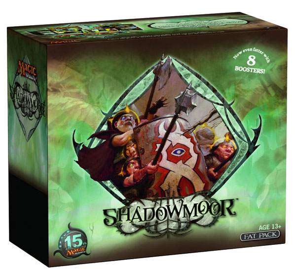 Image: Magic the Gathering CCG: Shadowmoor Expansion Tournament Pack Display  - Wizards of the Coast