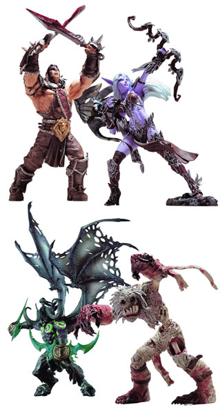 Image: World of Warcraft Series 5 Action Figure Set  (3)