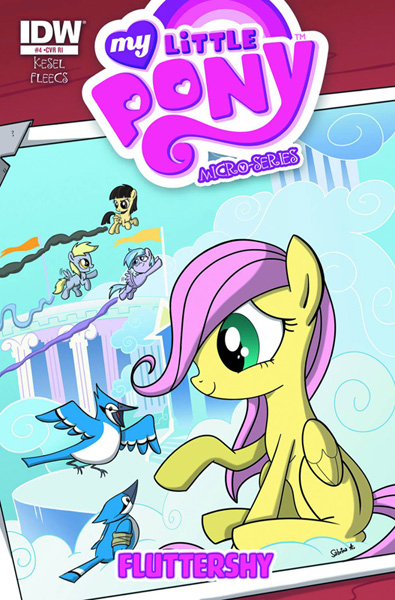Image: My Little Pony Micro Series: Fluttershy #4 - IDW Publishing