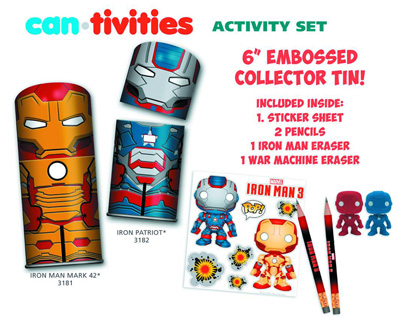 Image: Iron Man 3 Tintastic Creative Activity Set: Iron Man  - Marvel Heroes Collectibles & Novelties