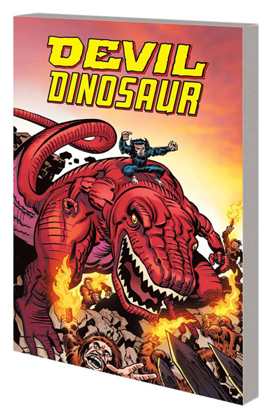 Image: Devil Dinosaur by Jack Kirby: The Complete Collection SC  - Marvel Comics