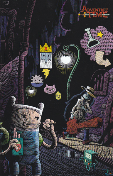 Image: Adventure Time #28 (Lloyd 15-copy incentive cover - 02821) - Boom! Studios