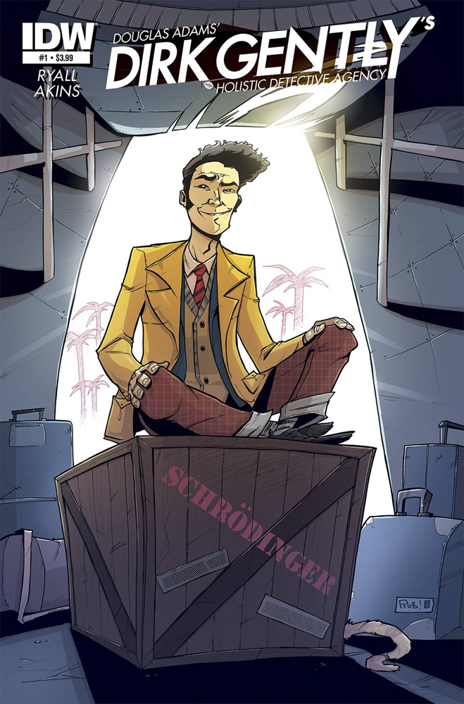 Dirk Gently's Holistic Detective Agency #1 cover by Rob Guillory