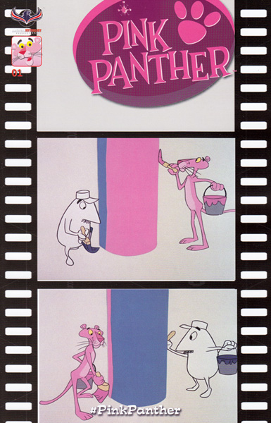 Pink Panther #1 retro incentive cover