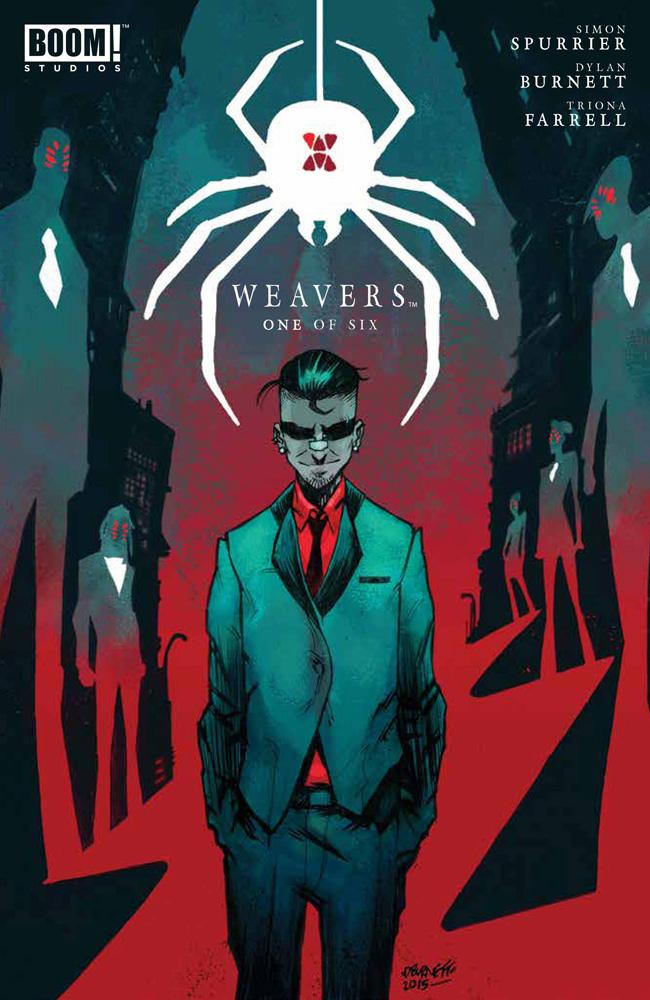 Weavers #1 Dylan Burnett cover