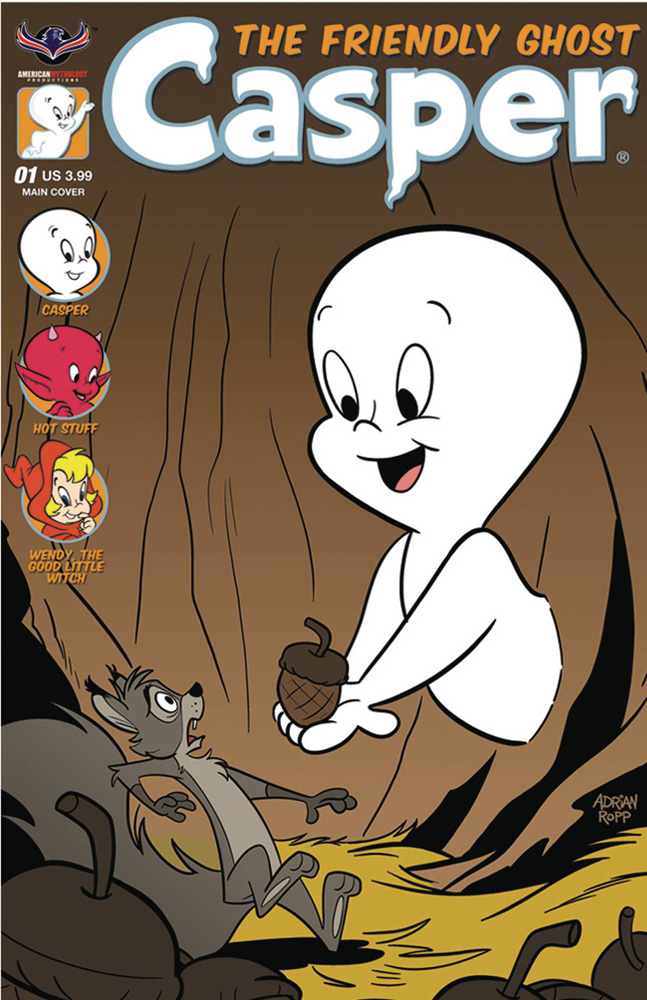 Casper the Friendly Ghost #1 cover by Adrian Ropp