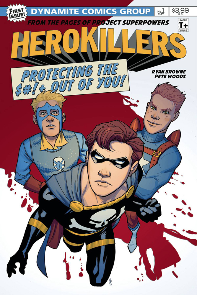 Project Superpowers: Hero Killers #1 Pete Woods cover