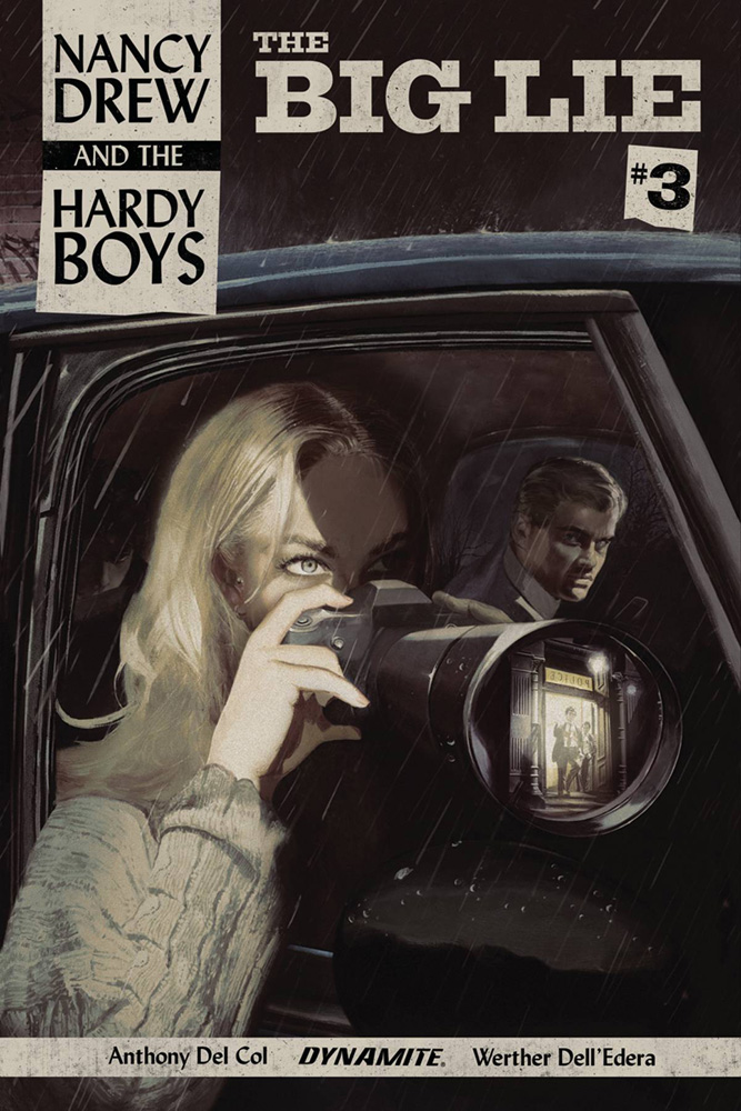 Image: Nancy Drew and the Hardy Boys: The Big Lie #3 (cover A - Dalton) - Dynamite