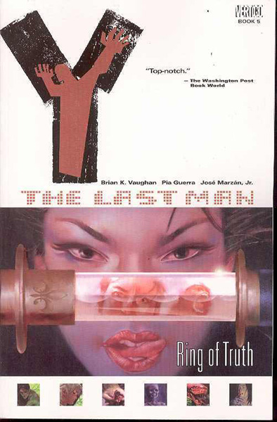 Image: Y: The Last Man Vol. 05 - Ring of Truth SC  - DC Comics