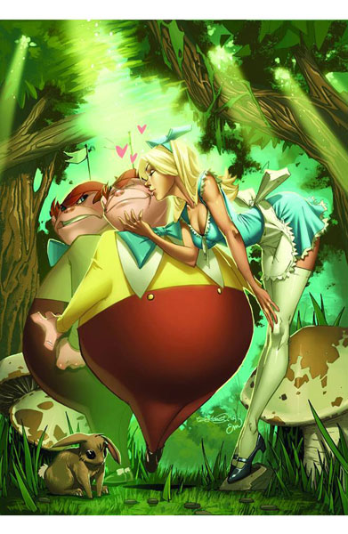 Image: Tales from Wonderland: Tweedledee & Tweedledum One-Shot  - Zenescope Entertainment Inc