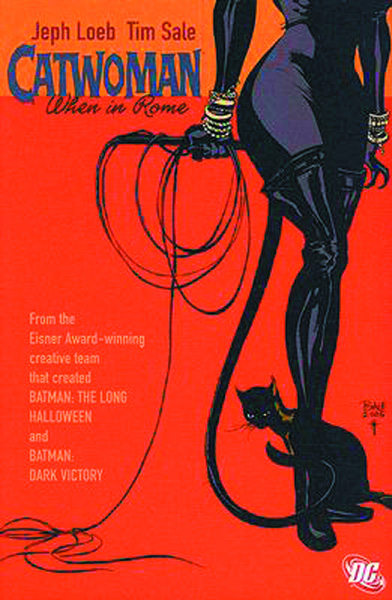 Image: Catwoman: When in Rome SC  - DC Comics