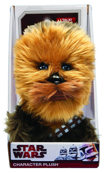 Image: Star Wars Talking Plush: Chewbacca 9-Inch