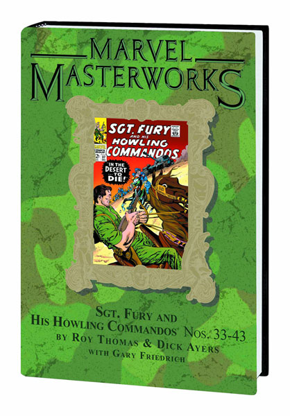 Image: Marvel Masterworks Vol. 187: Sgt Fury & His Howling Commandos Nos. 33-43 HC  - Marvel Comics