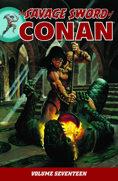 The Savage Sword of Conan Volume 17