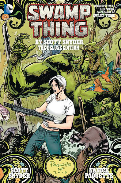 Swamp Thing by Scott Snyder Deluxe Edition