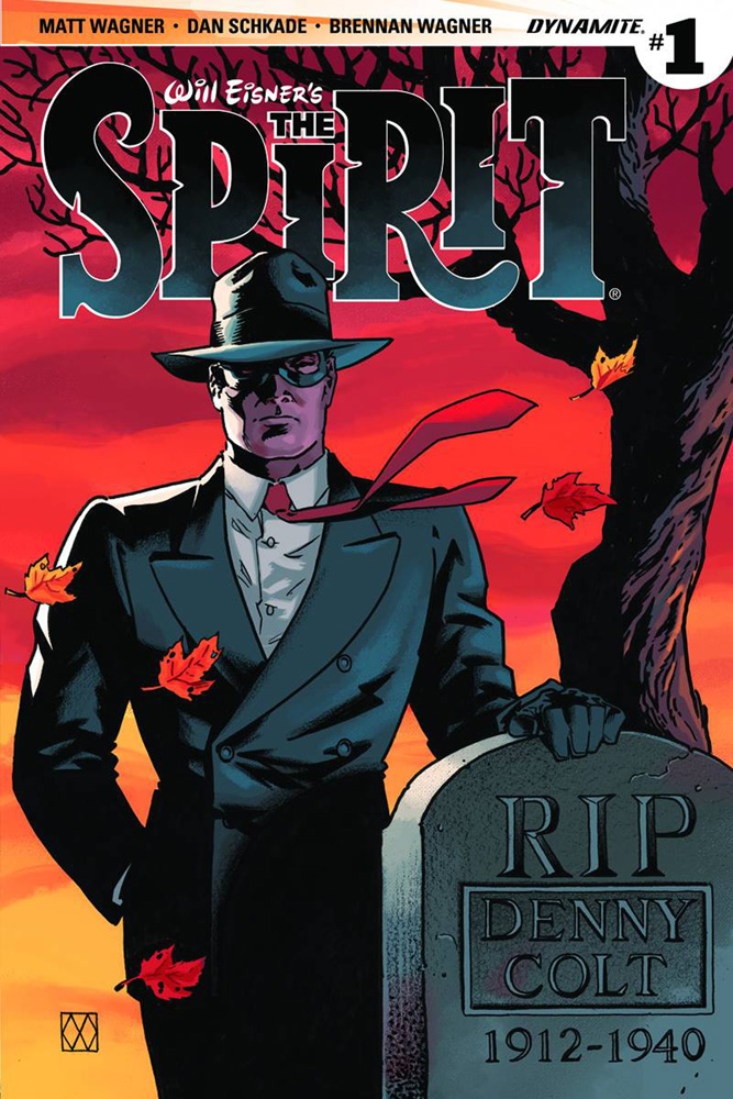 Will Eisner's The Spirit #1 Matt Wagner Cover