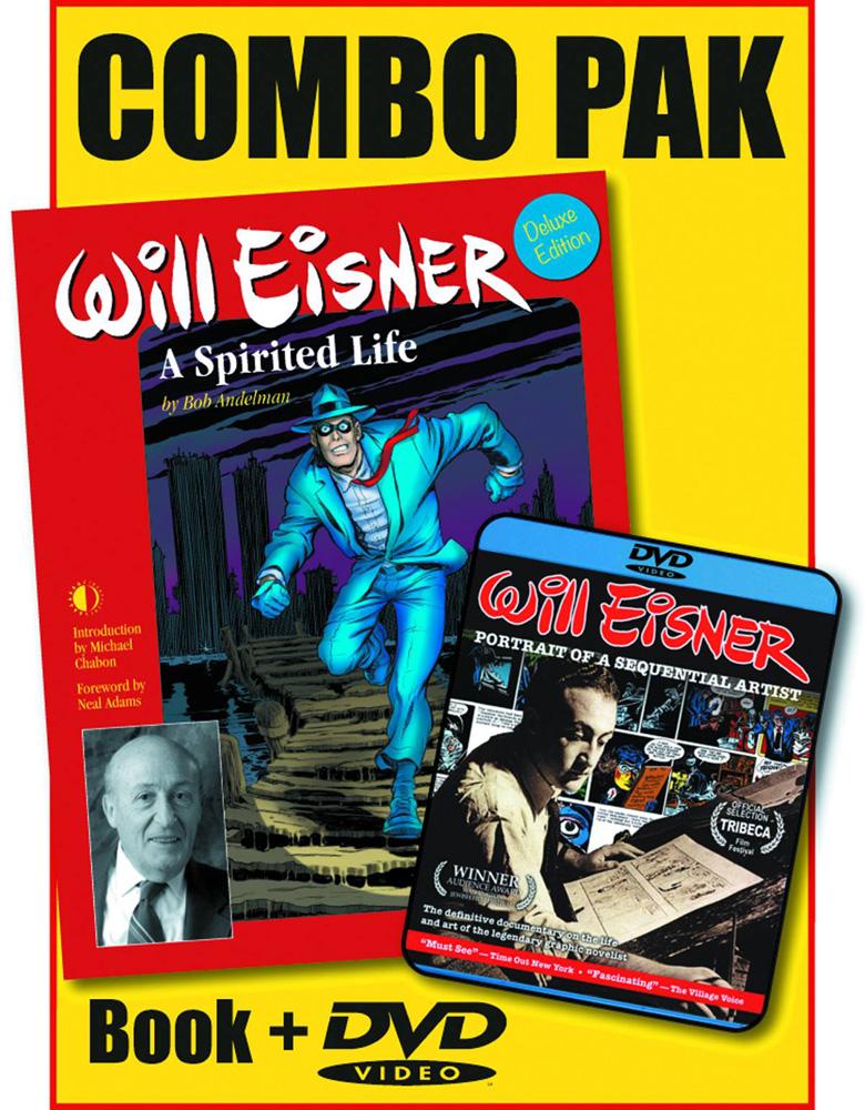 Will Eisner: A Spirited Life HC/DVD Combo Pack