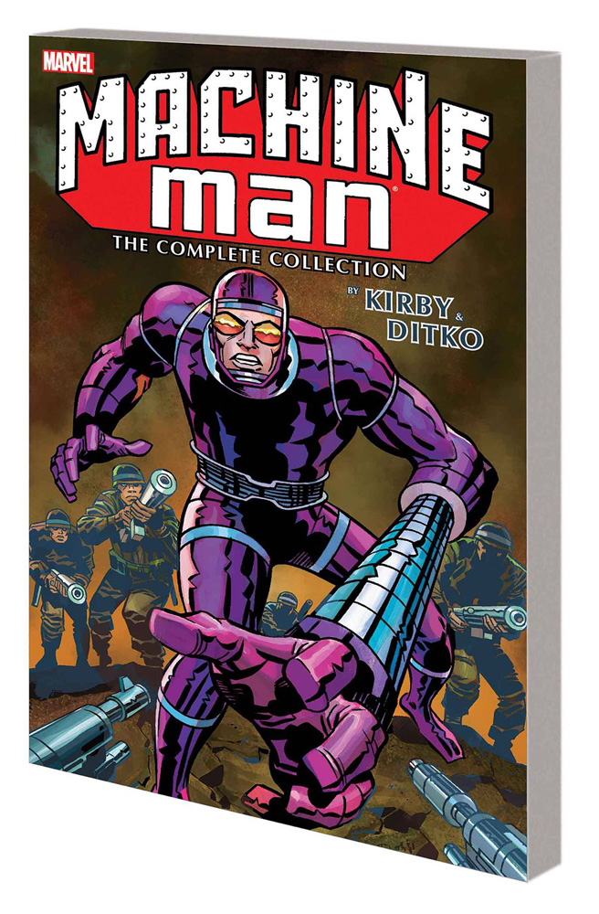 Machine Man by Kirby and Ditko Complete Collection