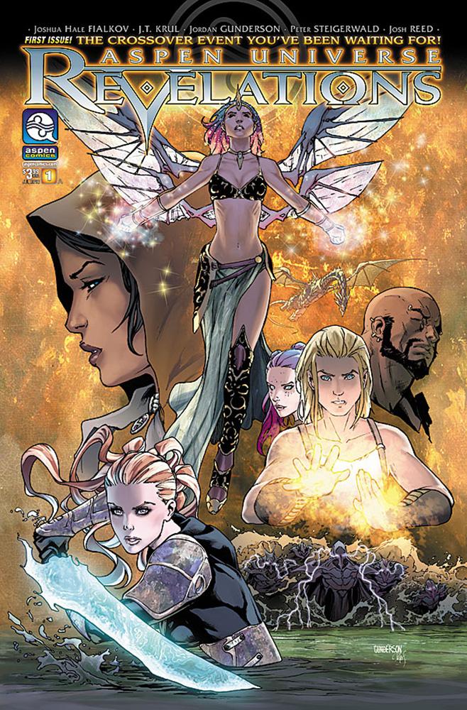 Aspen Universe: Revelations #1 cover by Jordan Gunderson