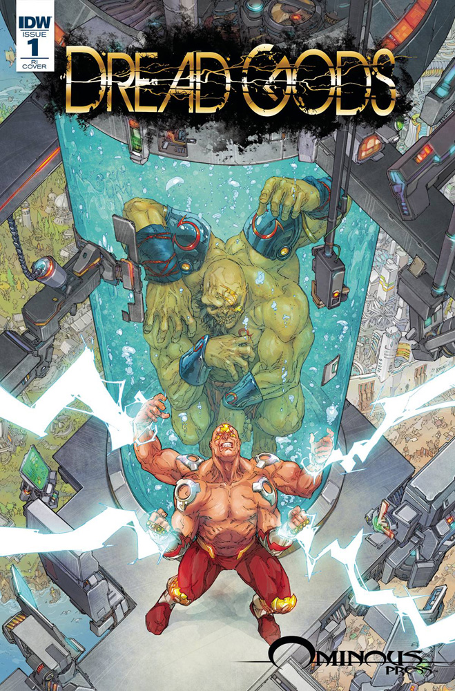 Dread Gods #1 Kenneth Rocafort cover