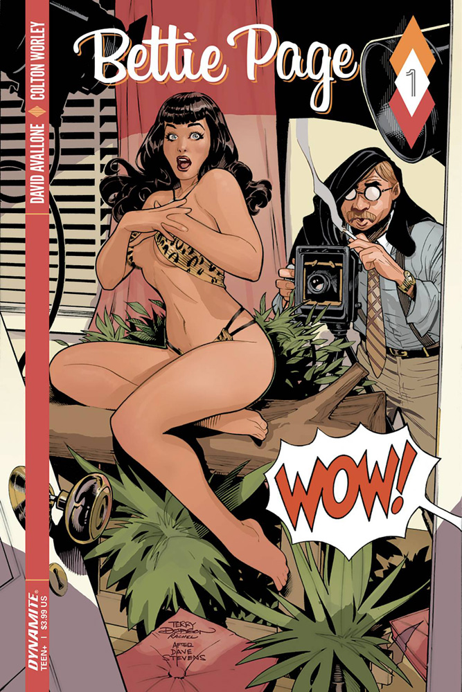 Bettie Page #1 Terry Dodson cover