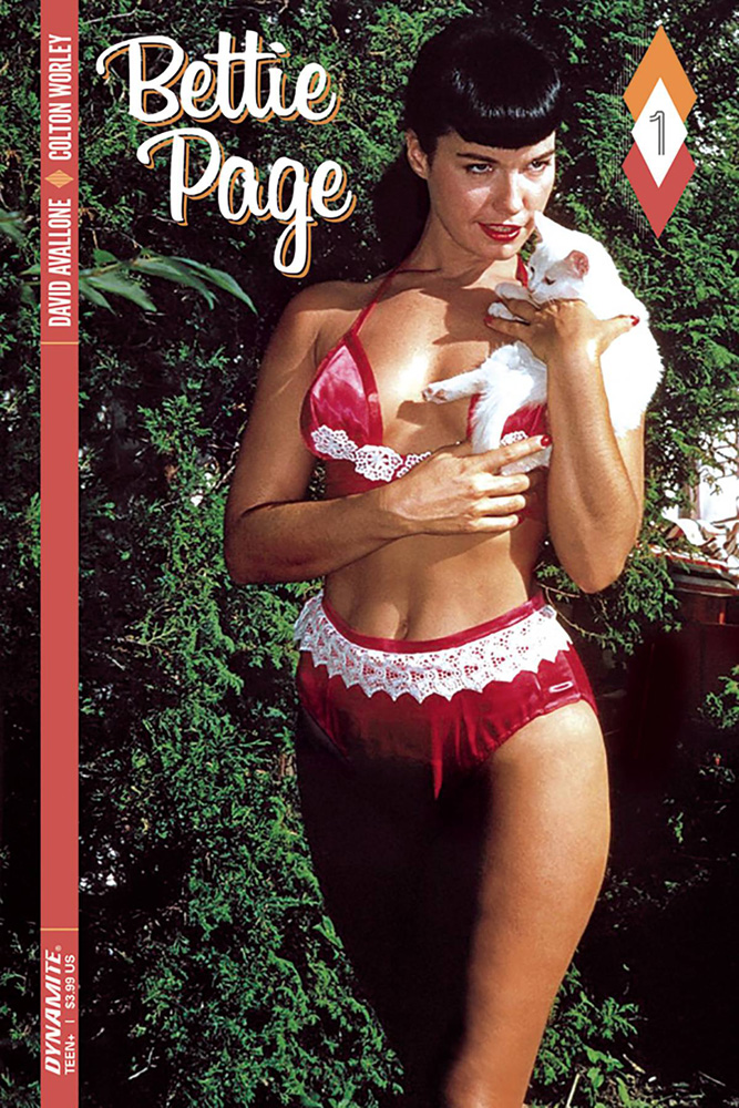 Bettie Page #1 Color Photo cover