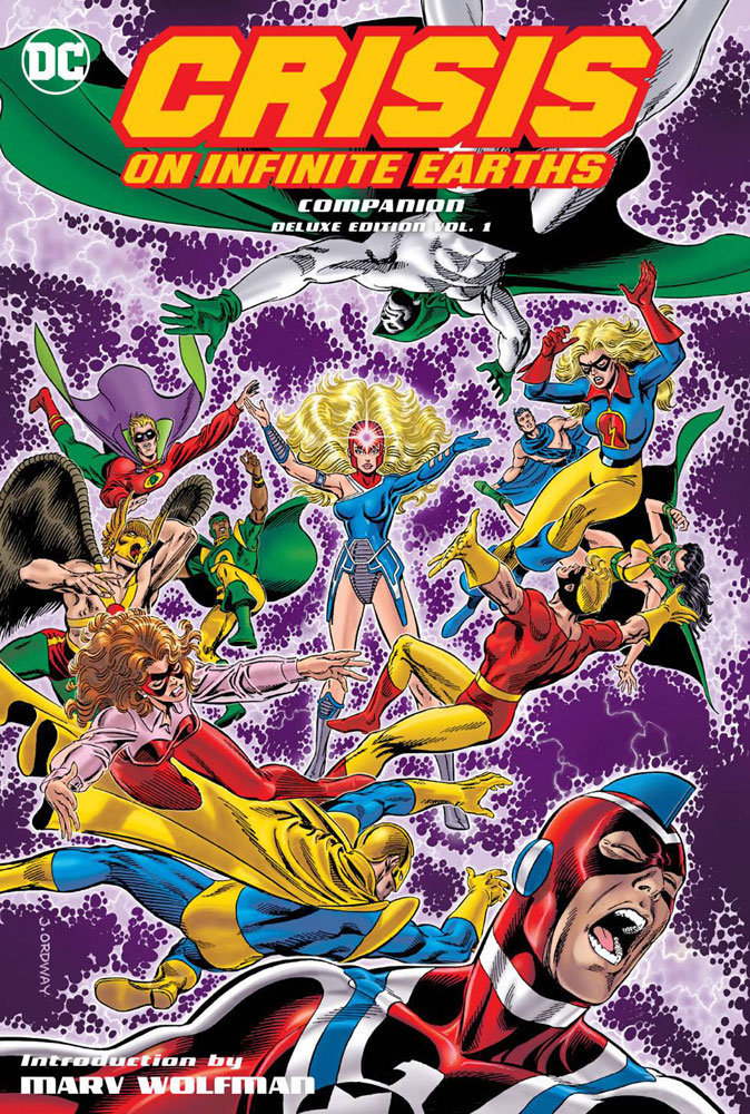Crisis on Infinite Earths Companion Deluxe Edition Volume One