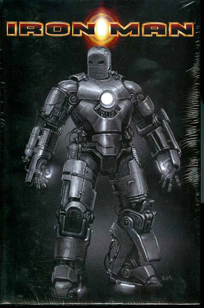Image: Invincible Iron Man Omnibus Vol. 01 HC  (Movie variant) - Marvel Comics