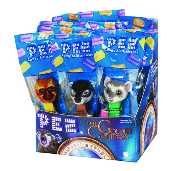 Image: Pez Golden Compass  (12 assorted dispensers) -