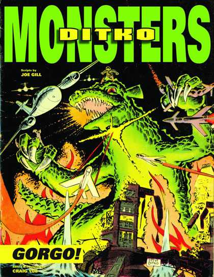 Image: Ditko's Monsters: Gorgo! HC  - IDW Publishing