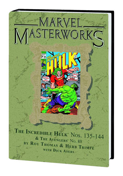 Image: Marvel Masterworks Vol. 193: Incredible Hulk Nos. 135-144 HC  - Marvel Comics