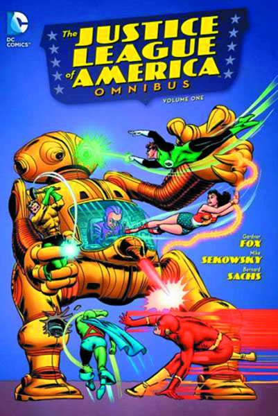 The first appearance of the Justice League of America from The Brave and The Bold #28.