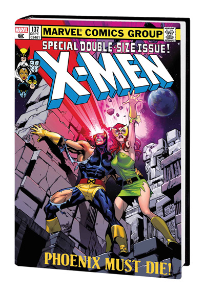 The Uncanny X-Men Omnibus Volume 2. Cover by Stuart Immonen.