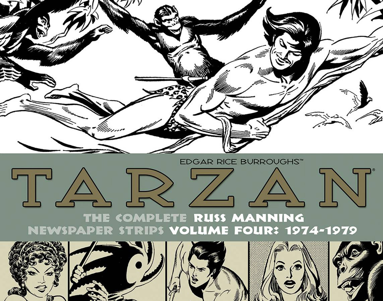 Tarzan: The Complete Russ Manning Newspaper Strips Volume 4