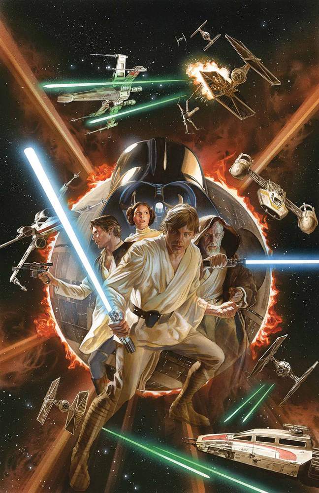 Star Wars #1 Alex Ross Variant Cover.