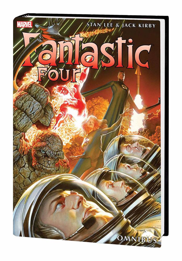 The Fantastic Four Omnibus Volume 3 Alex Ross cover