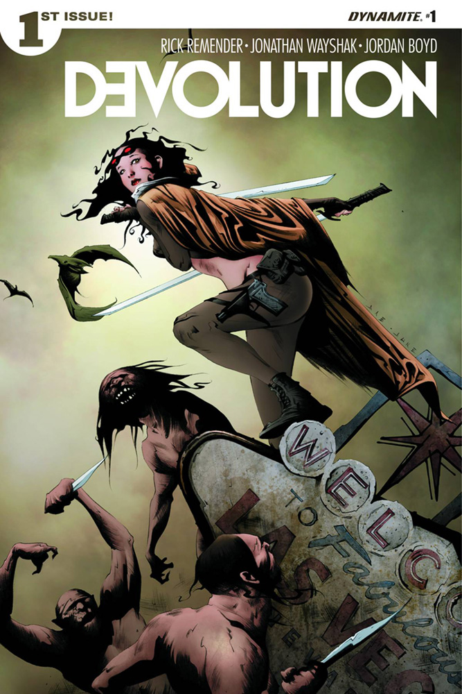 Devolution #1 Jae Lee cover
