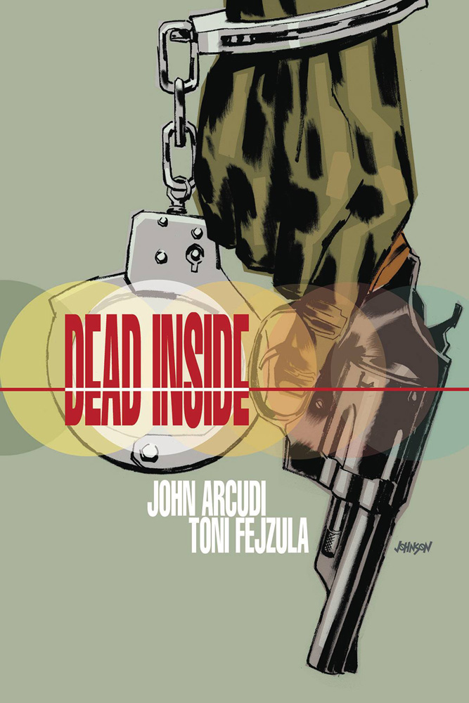 Dead Inside #2 Dave Johnson cover