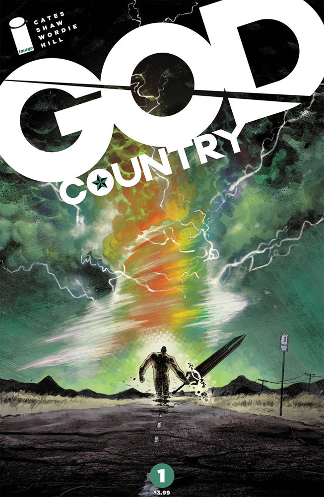 God Country #1 Geoff Shaw & Dave Stewart cover